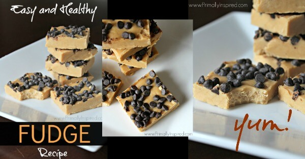 Easy Healthy Fudge Recipe