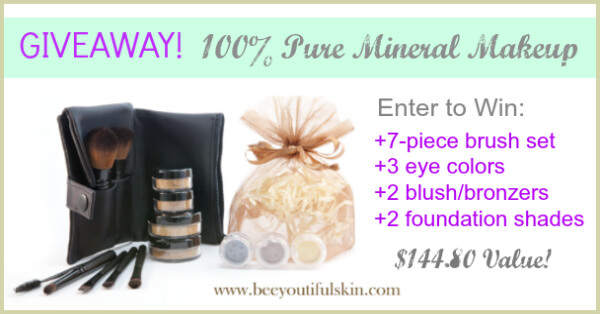 beeyoutiful makeup giveaway
