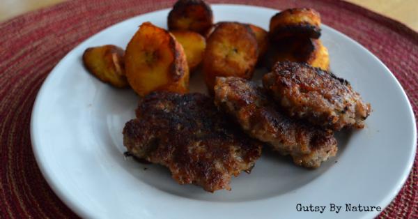 Autoimmune-Friendly-Breakfast-Sausage. gutsy  by nature