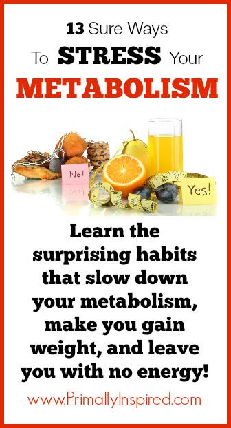 Ways to Stress your Metabolism- www.PrimallyInspired.com