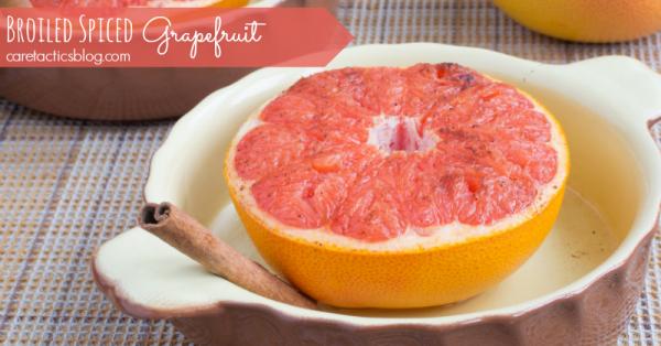 broiled grapefruit caretactics