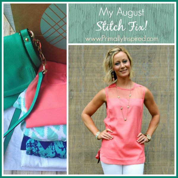 August Stitch Fix Review from Primally Inspired