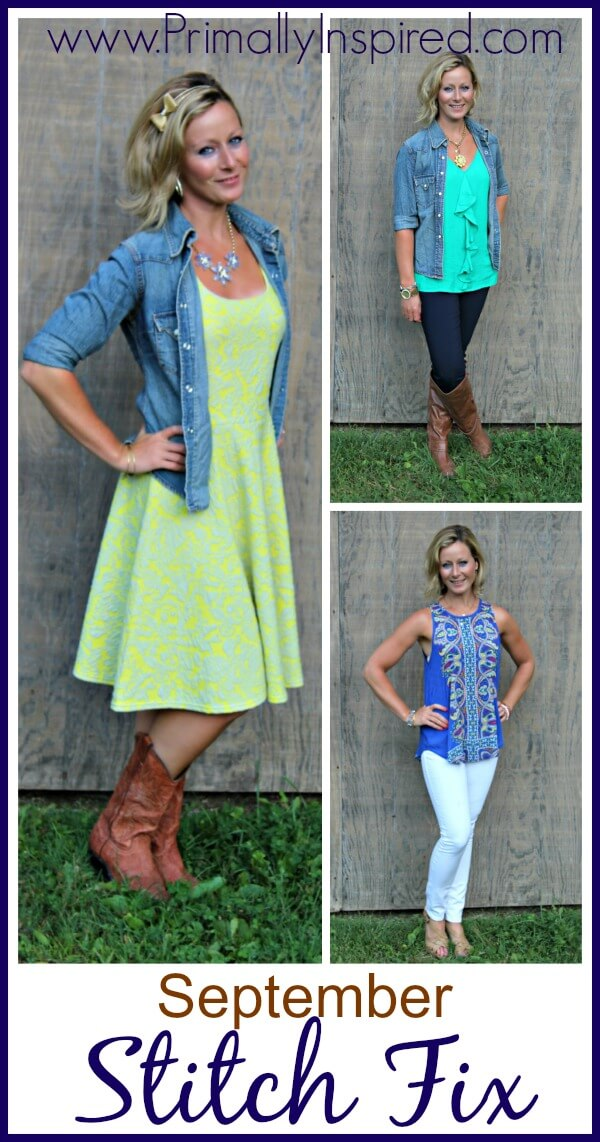 September Stitch Fix Review from Kelly @ Primally Inspired