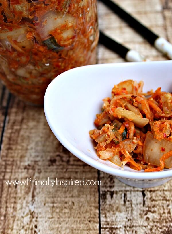 How To Make Kimchi from Primally Inspired