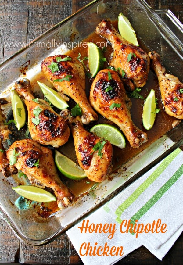 Honey Chipotle Chicken Recipe from Primally Inspired