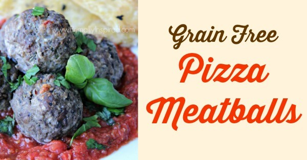 Paleo Pizza Meatballs from Primally Inspired