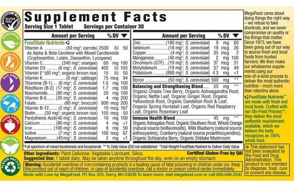 Whole Foods Based Multivitamin
