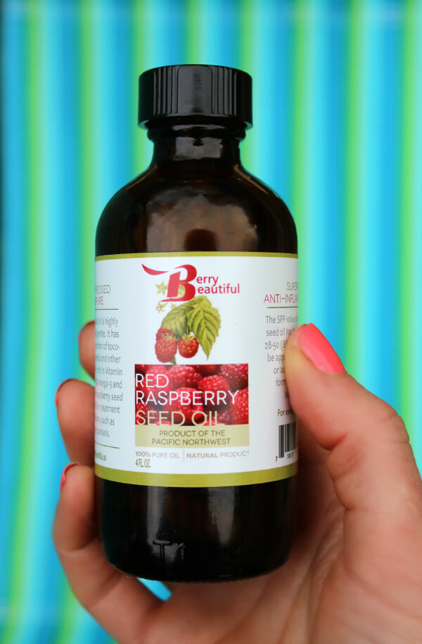 Natural Sunscreen - Red Raspberry Seed Oil Broad Sunscreen Protection! Primally Insipred