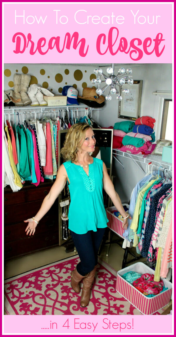 How To Create Your Dream Closet - love this idea!!!