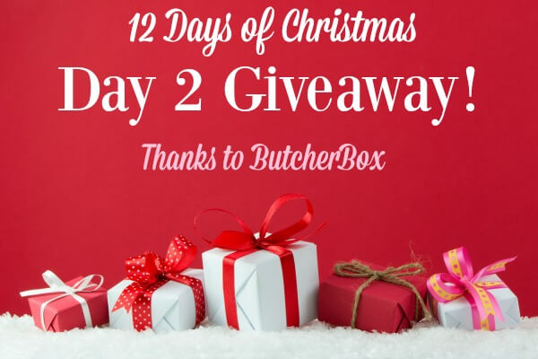 Christmas Giveaway Day 2 ButcherBox