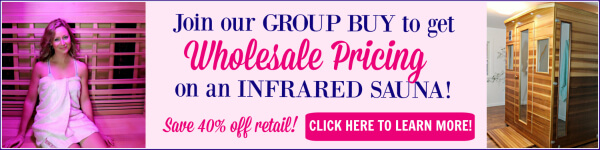Infrared Sauna Group Buy Blog Horizontal Ad
