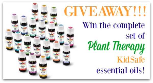 Plant Therapy KidSafe essential oils giveaway