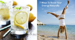 Here's 7 natural energy boosts to increase your energy quickly when you're tired. 3 natural energy drink recipes and simple exercises for quick energy!