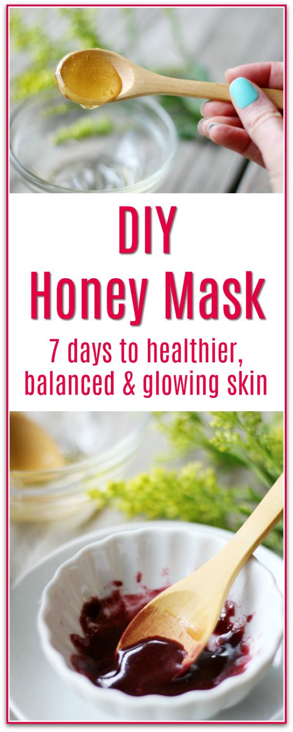 Honey Mask DIY recipes
