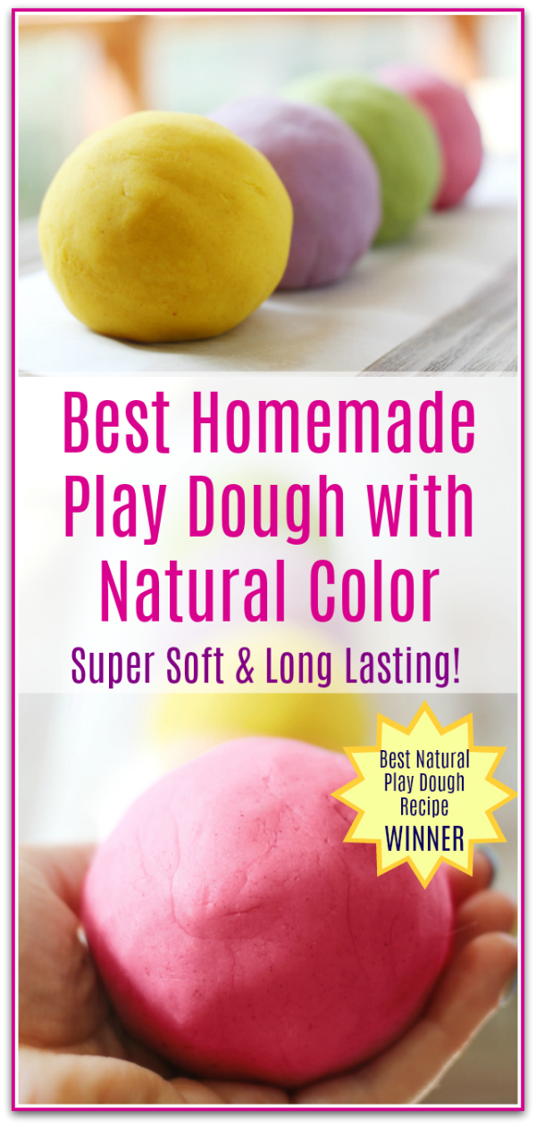 Best Homemade Play Dough Recipe - So Soft and Long Lasting