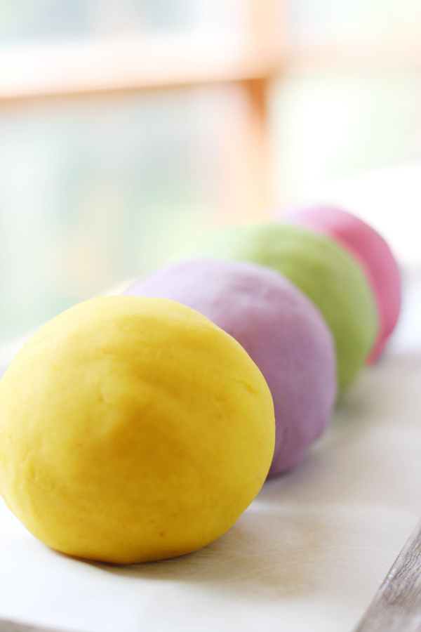 Best Homemade Play Dough Recipe with Natural Colors - So Soft and Long Lasting!