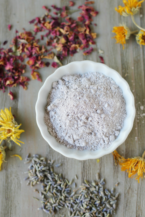 Custom DIY Herbal Clay Mask recipe