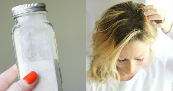 DIY Dry Shampoo Recipe